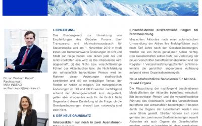 Kredite mit Bundesgarantie als Liquiditätshilfe für schweizerische Unternehmen in der Corona-Krise